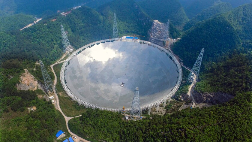 China radio telescope