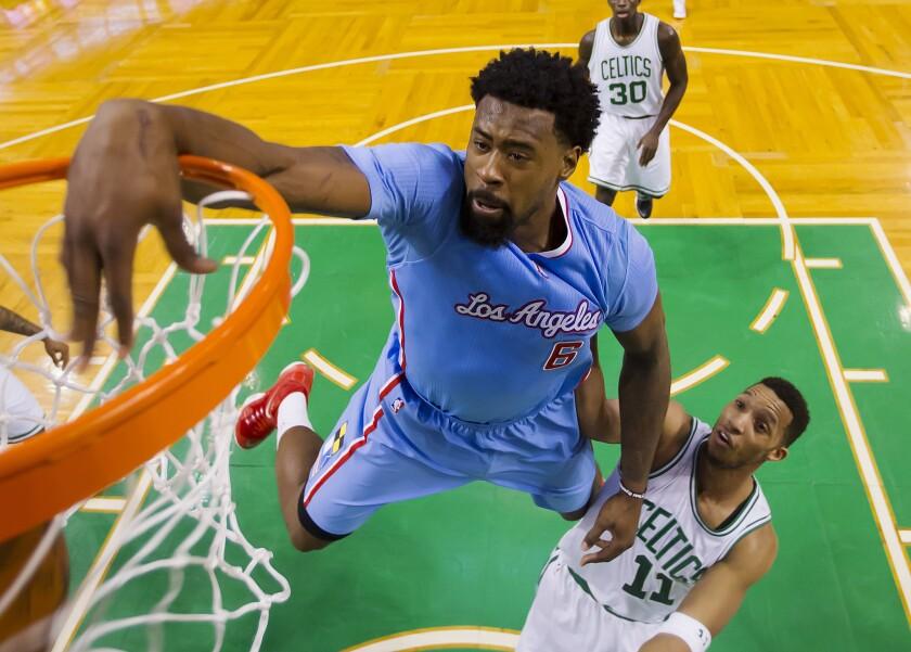 Clippers vencieron a los Celtics.