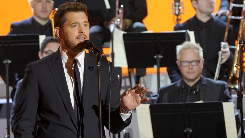 """Michael Buble in """"buble"""" on NBC."""