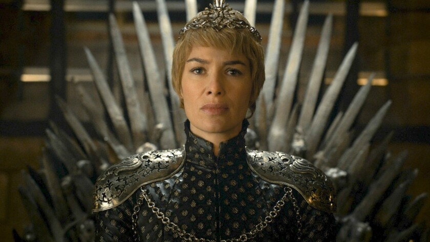 """In this undated image released by HBO, Lena Headey appears in a scene from """"Game of Thrones."""" """"Game"""