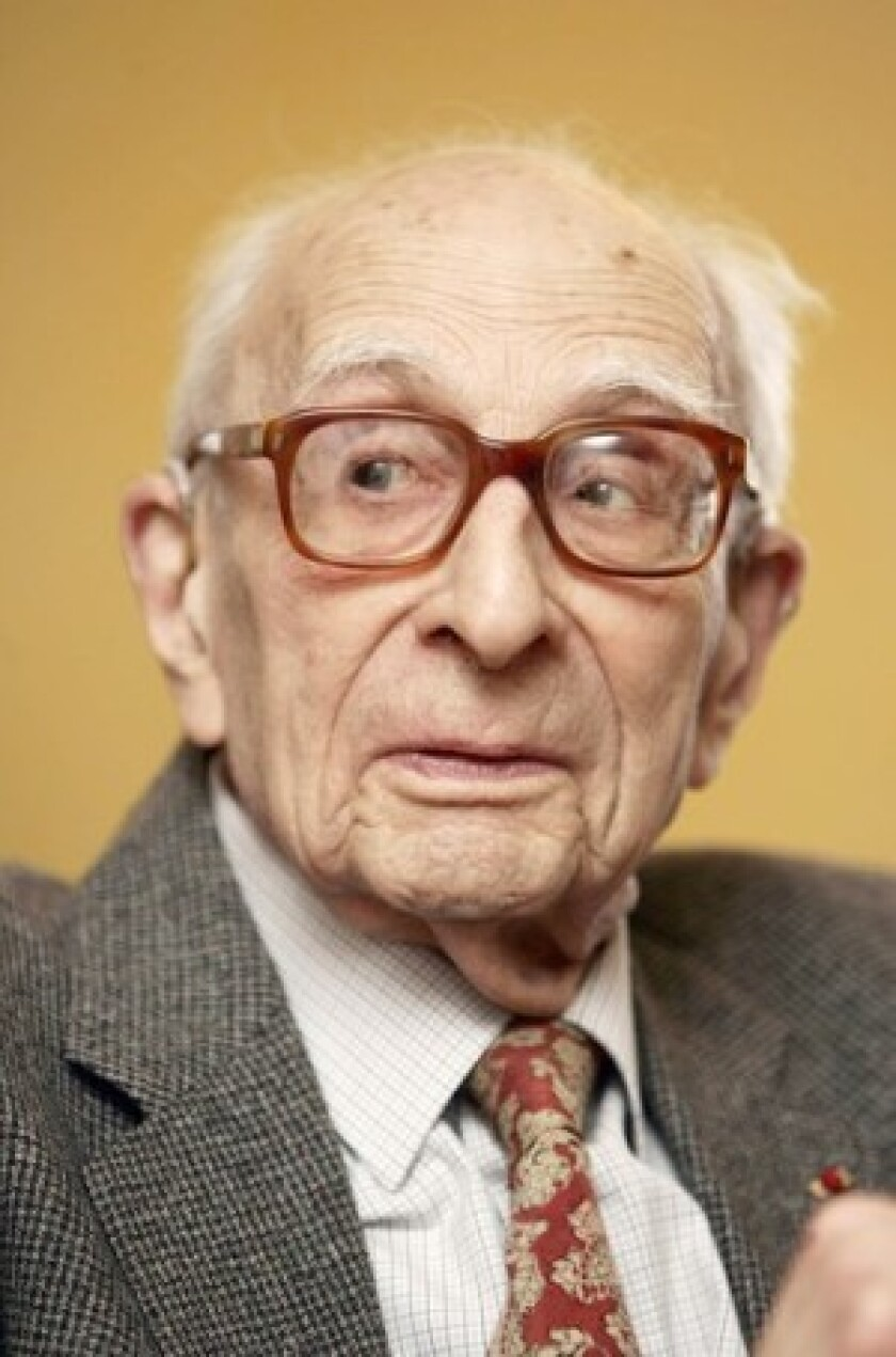 Claude Levi-Strauss, who towered over the French intellectual scene, founded the school of thought known as structuralism.