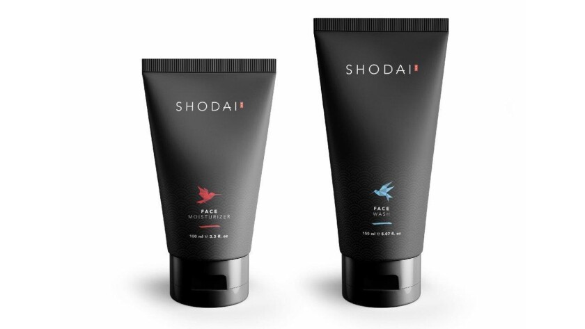 Shodai will be available online in the U.S. at shodaimen.com; $20 for face wash and $24 for face moisturizer.