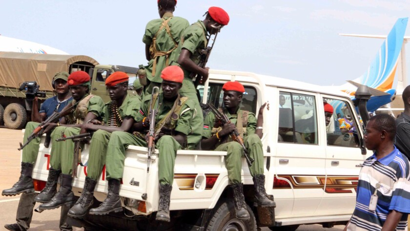 Renewed fighting breaks out across South Sudan capital - Los