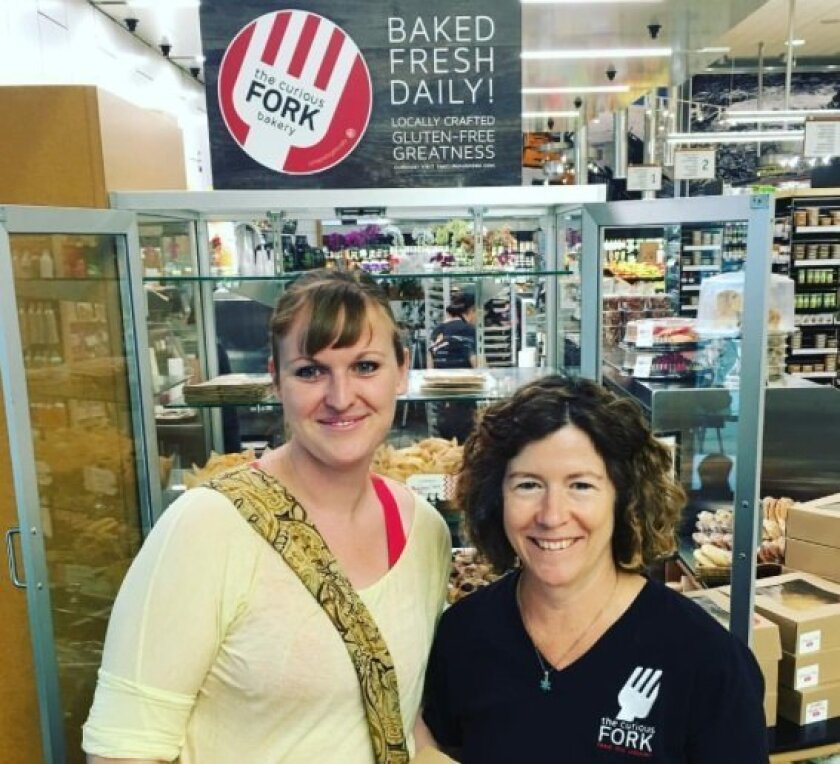 Pastry Chef Sonja Knowles and owner Barbara McQuiston launch fresh-baked goods from The Curious Fork at Seaside Market.