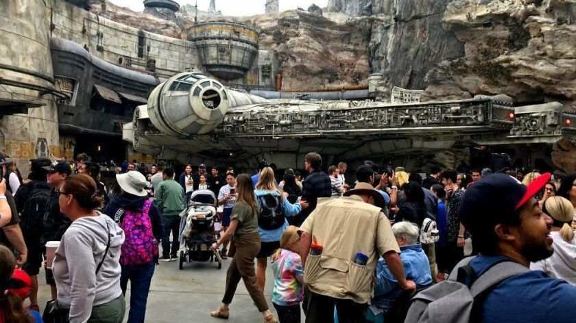 Opening day at Disneyland's newest attraction, Star Wars: Galaxy's Edge