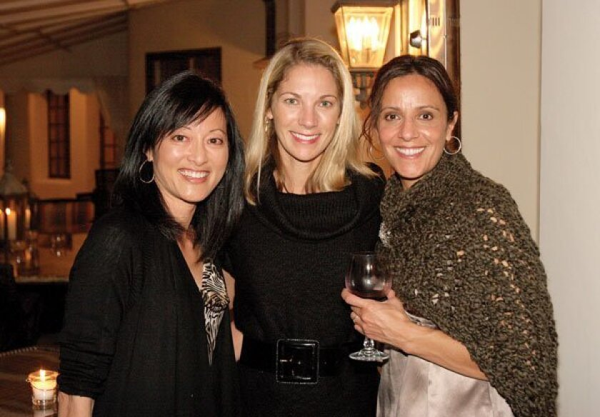 Terrie Whitmer, Sally LaRocca  and Nariman Lennick. Photos by Dina Chakamian, Jenny Chang, Stacey Phillips, Lisa Sullivan