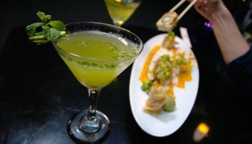 Ebisu in Hillcrest is a great date-night option, and the setting is mellow.