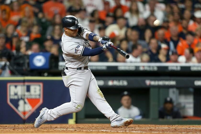 BESTPIX - League Championship Series - New York Yankees v Houston Astros - Game One