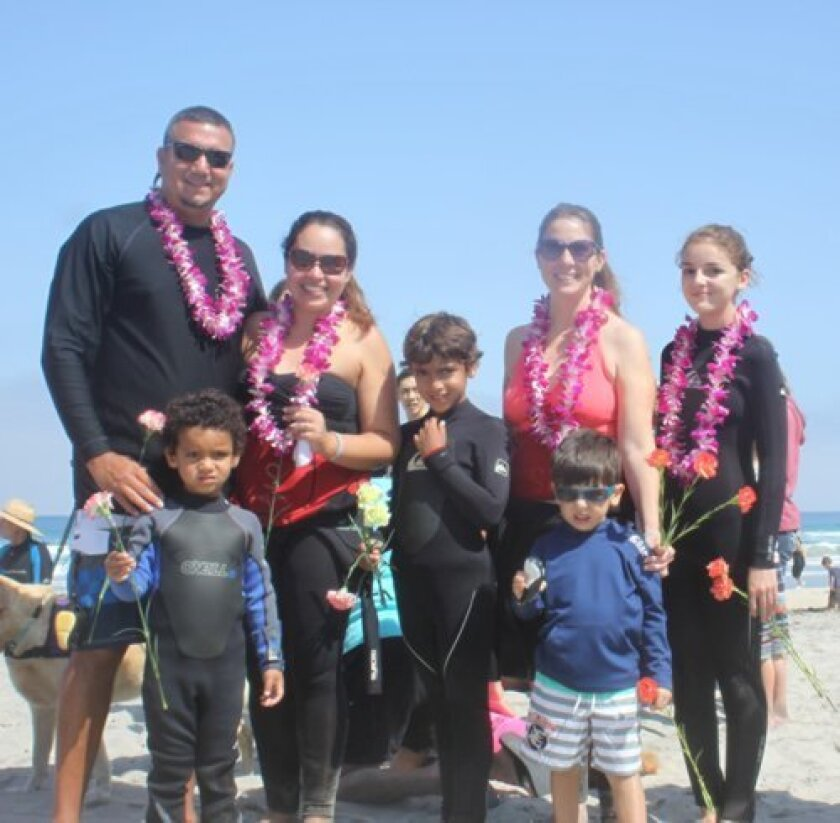 caleb Acosta's family: Father Clinton and brother Jacob Acosta, mother cathy Franco, brother Daniel Acosta, aunt Cynthia Franco and cousins Evan and Lara Montoya