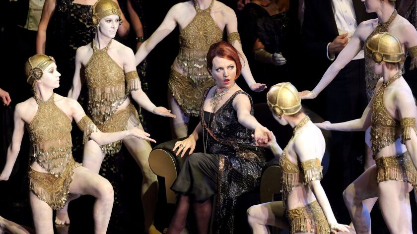"San Diego Opera's production of ""La Traviata"" will feature sets and costumes rented from LA Opera, w"