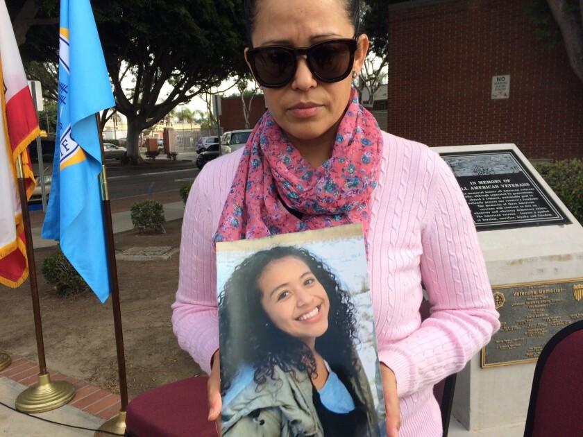 """La madre de Danah Rojo-Rivas la recuerda como """"su ángel"""", cuyas aspiraciones eran convertirse en abogada."""