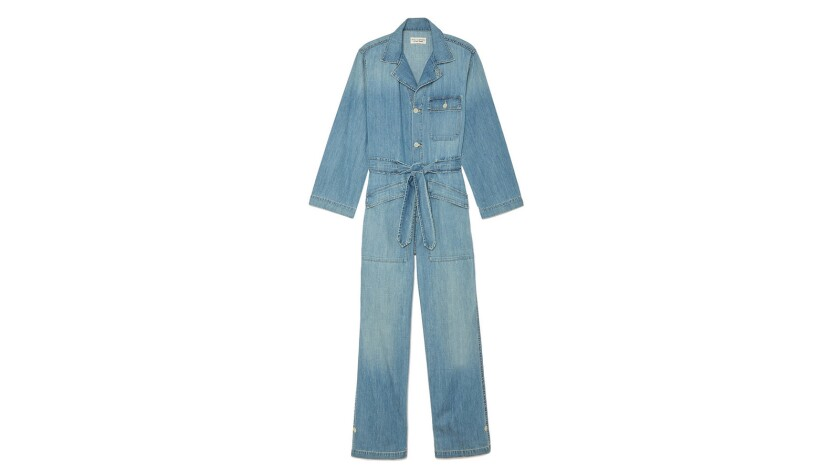 Nili Lotan The jumpsuit trend shows no signs of waning, especially in L.A., where comfort is king. I