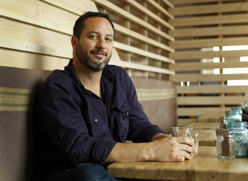 Matt Gordon, owner/chef at Solace and the Moonlight Lounge in Encinitas.