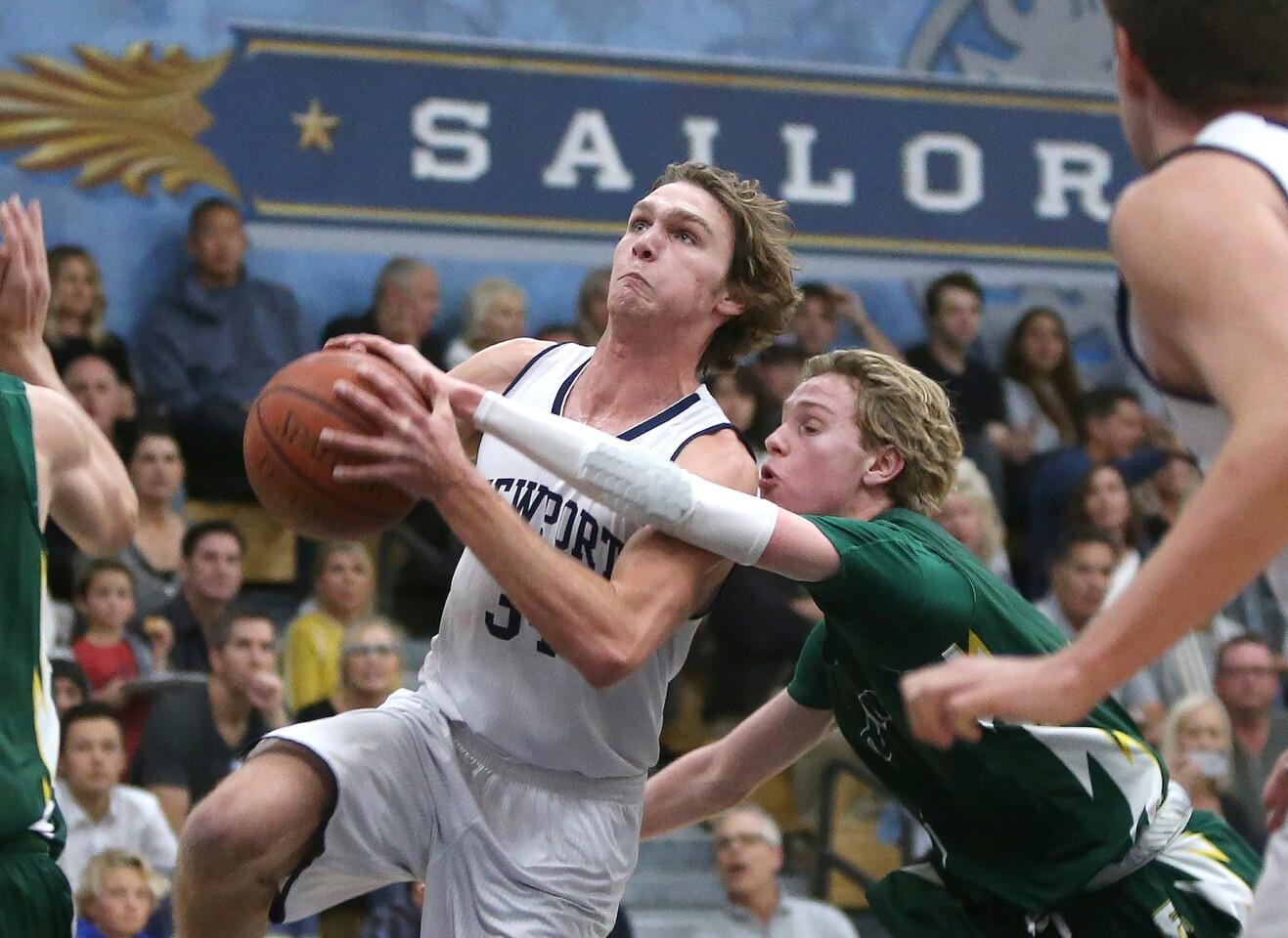 Photo Gallery: Edison vs. Newport Harbor in boys' basketball