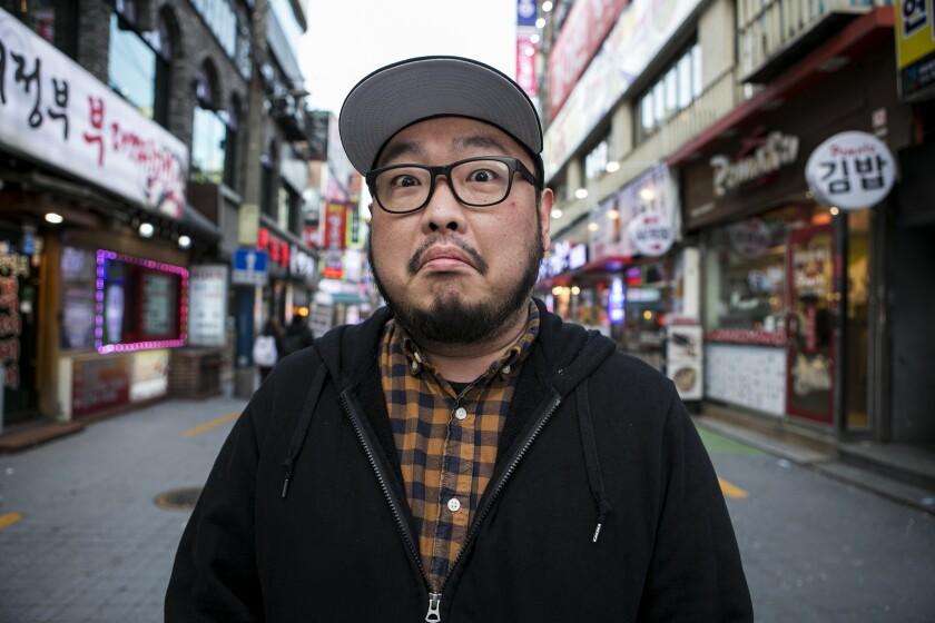 A Korean American stand-up comic walks into a bar in Korea. Hilarity ensues — or so he hopes