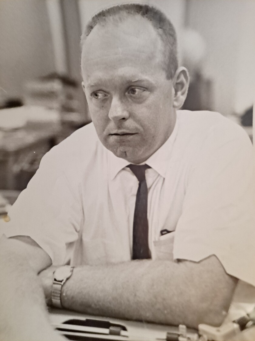 Pete Noyes in an undated photo.