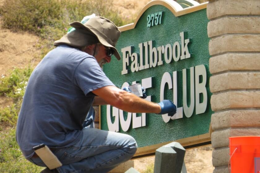 fallbrook golf