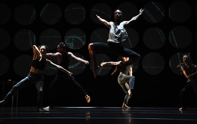 "The Invertigo Dance Theatre troupe rehearses ""Formulae & Fairy Tales."""