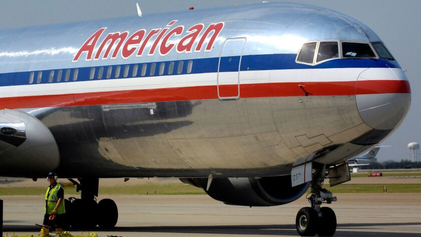 American Airlines reported a third quarter profit of $624 million on Thursday, a drop of about 15 percent for the same quarter last year.