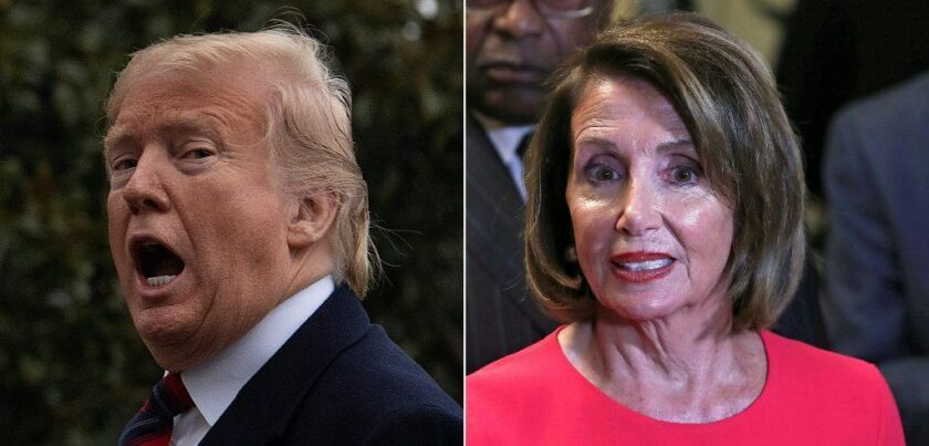 President Trump and House Speaker Nancy Pelosi (D-San Francisco) have both played the blame game with coronavirus.