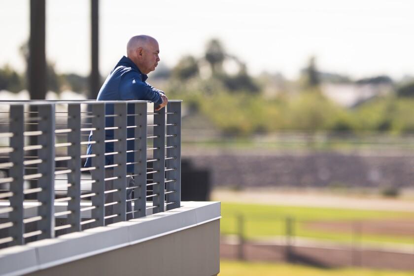 Padres Assistant General Manager Fred Uhlman Jr.