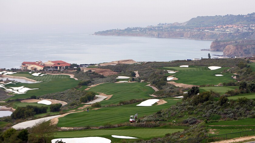The Trump National Golf Club on the Palos Verdes Peninsula in 2005.