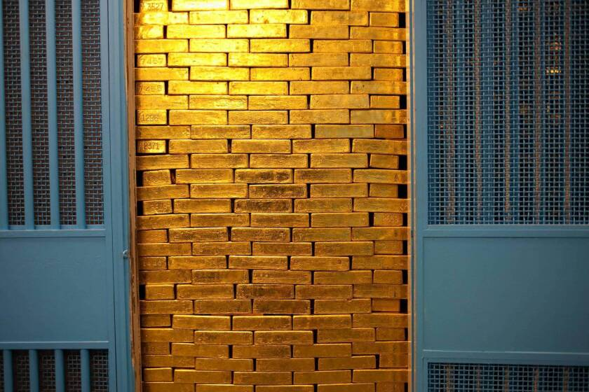What's in your vault? Uncle Sam audits its stash of gold at the New York Fed