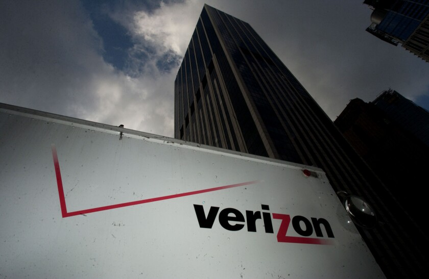 The FCC gave Verizon permission to use other companies' spectrum for mobile phone internet usage