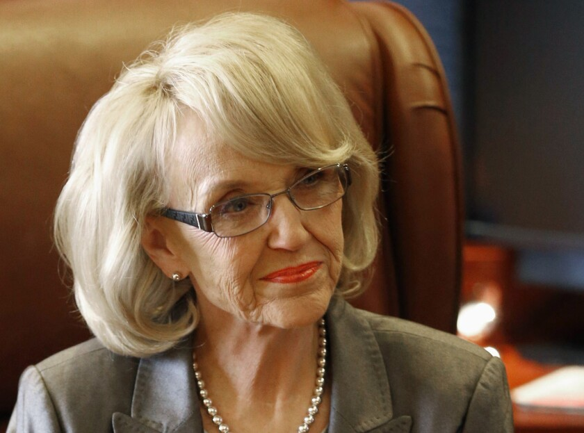 Arizona Gov. Jan Brewer welcomed a bipartisan immigration proposal in the U.S. Senate which says border security must be a linchpin in immigration reform.