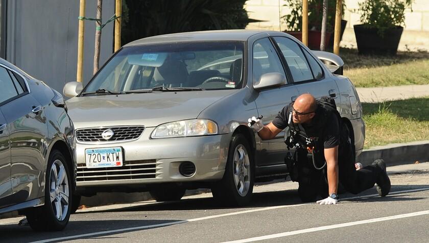 UCLA gunman's car