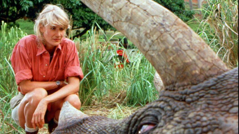 """Laura Dern in the movie """"Jurassic Park."""""""