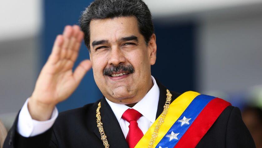 VENEZUELA-CRISIS-MADURO-INDEPENDENCE-DAY