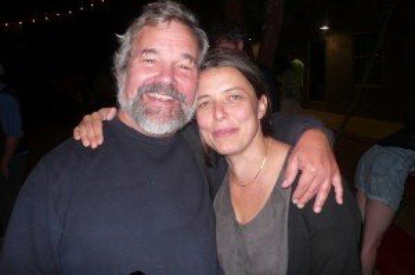 Actor Todd Blakesley and sound designer Anouschka Trocker