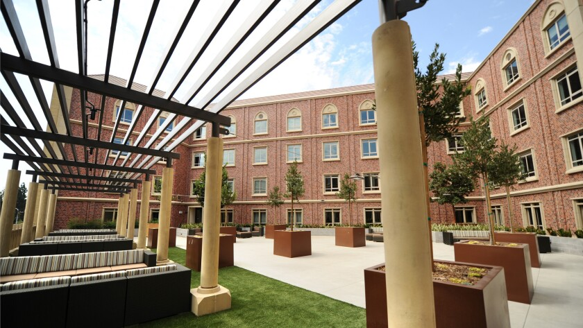 USC's massive campus addition features student housing — and Trader