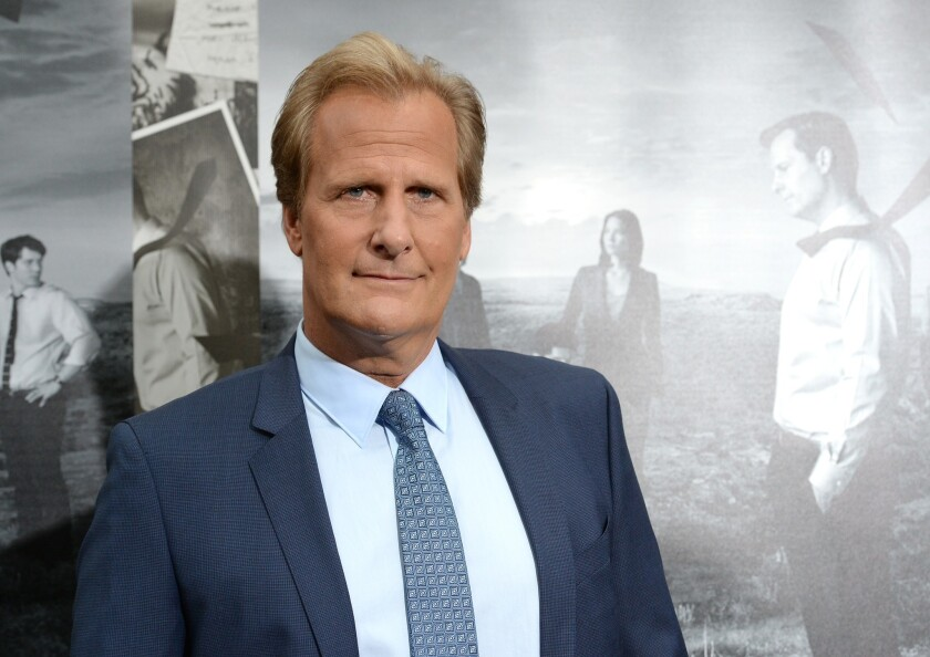 """Jeff Daniels, star of """"The Newsroom,"""" stays grounded with a home in Michigan and roles that keep him from being typecast. ("""