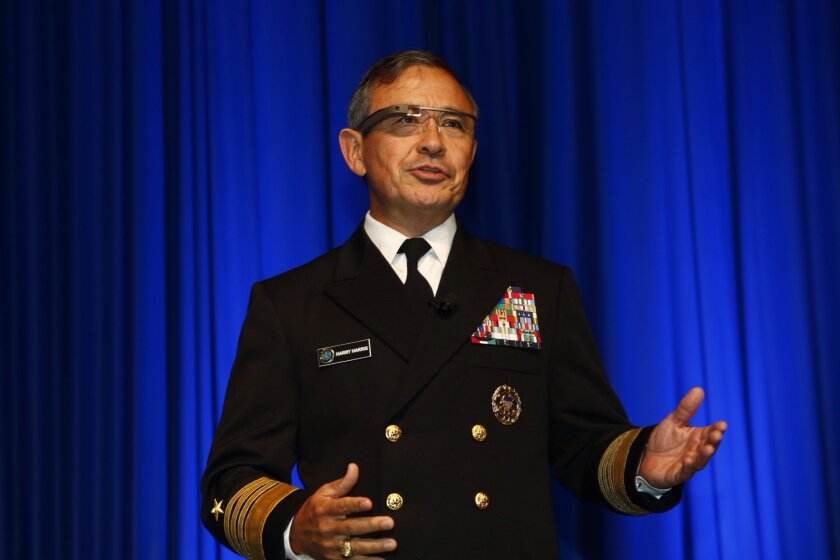 Navy Adm. Harry Harris, Pacific Fleet commander