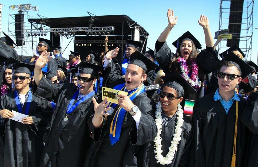 Cal State San Marcos graduation