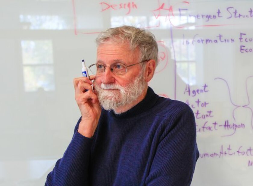 Don Norman, director of UC San Diego's Design Lab