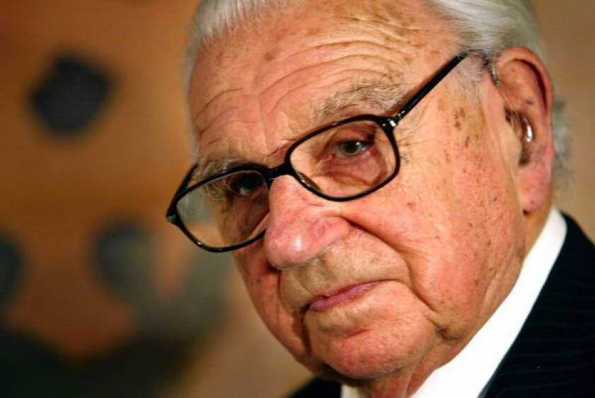 Nicholas Winton rescued 669 children in the days before World War II.