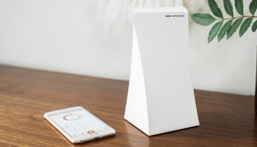 Gryphon's Tower home router helps parents manage screen time and keep their kids safe online.