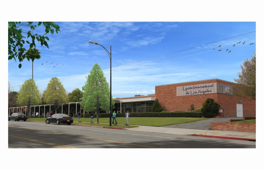 City helps French prep school acquire loan
