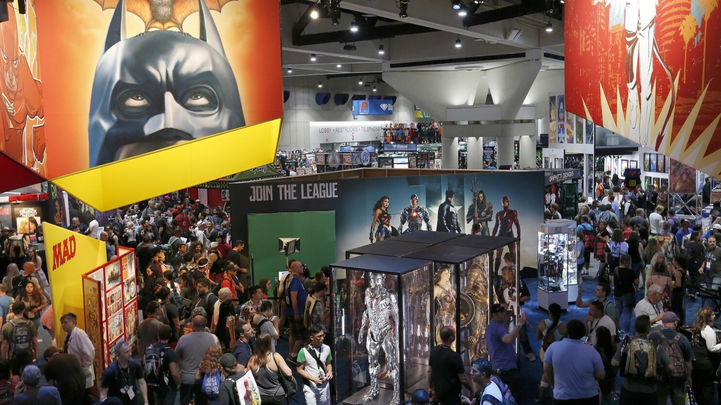 Comic-Con is not just about comic books anymore. That feels like a loss -- and a win