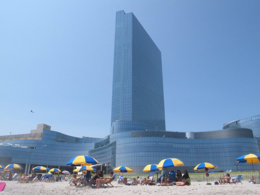 This July 23, 2014 photo shows Revel Casino Hotel in Atlantic City, N.J. On Oct. 7, 2014, the now-closed property was sold out of bankruptcy court to Toronto firm Brookfield Asset Management for $110 million. (AP Photo/Wayne Parry)