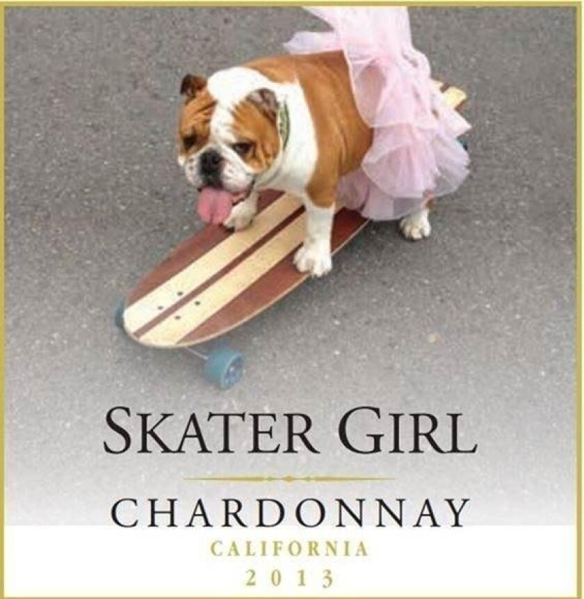 The Skater Girl line of affordable wines from Coomber Family Wines.