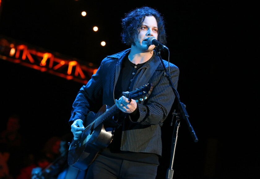 Jack White, known for his role in the White Stripes duo, will perform this Saturday on 'SNL.'