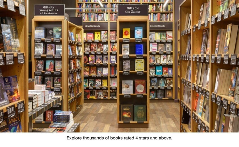 Amazon Books opens in Seattle Tuesday morning.