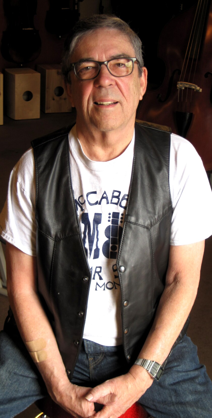 Bob Riskin, co-owner of McCabe's Guitar Shop.