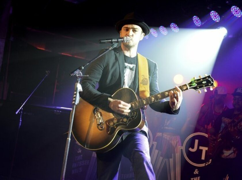SXSW 2013: Justin Timberlake brings hot jams to packed warehouse