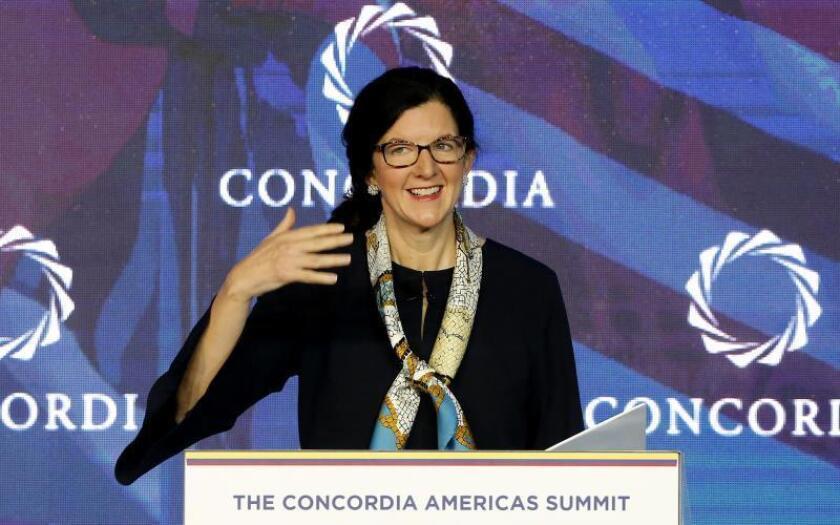 La secretaria de Estado adjunta de EE.UU. para Latinoamérica, Kimberly Breier. EFE/ Leonardo Muñoz/Archivo