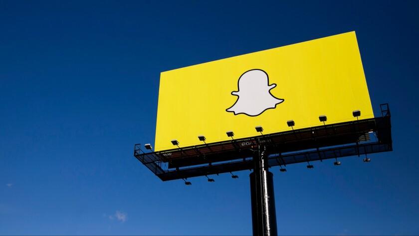 Snapchat billboard in Minnesota